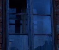 Okno v modrém